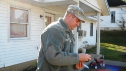 Caulking the County: Volunteers winterize 12 homes- 15 remain to be done