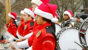 Local officials and bands participate in Inaugural Parade