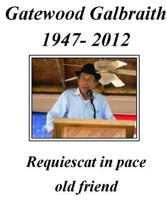 Galbraith passes away at age 64