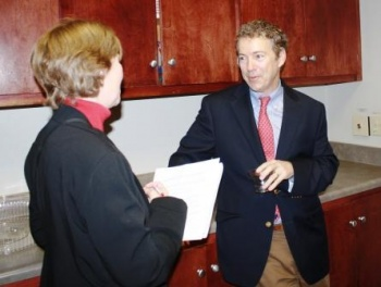 Senator Rand Paul - a conversation in the kitchen