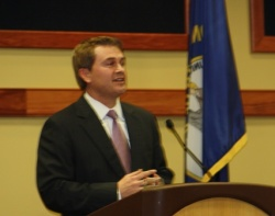 Comer takes charge