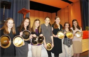 PTMS students bring home speech awards