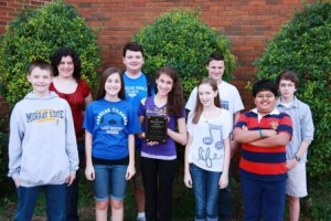 Paducah Middle takes 2nd place in History Bowl