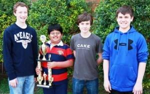 Paducah Middle team is DOE Science Bowl Runners Up