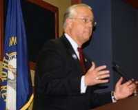 Senators butt heads over Leeper's actions