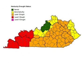 Level 2 Drought Declared in 24 Western Kentucky Counties