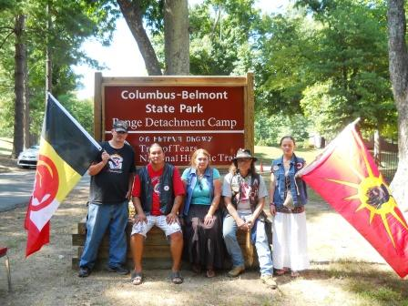 Columbus Belmont Park on the Trail of Tears