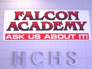 Falcon Academy - new ground plowed in rural area