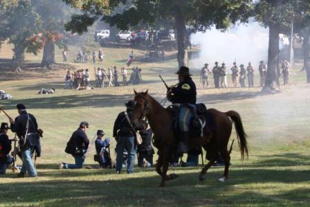 Civil War returns to Columbus Belmont Park October