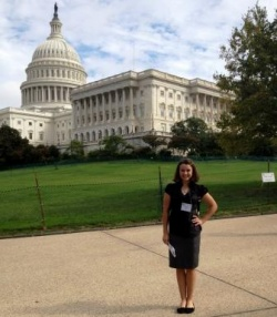 PTHS student Sarah Miller goes to Washington