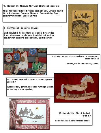 2012 Fair - toys, cards, crafts