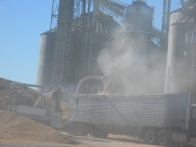 Update: Corn salvage operation ongoing - clean up predicted to take 2-3 weeks
