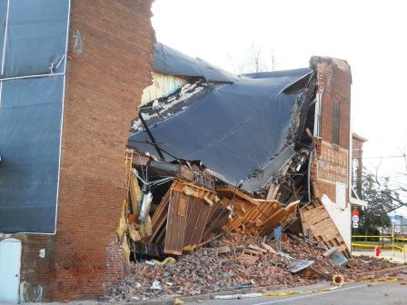 Jackson Purchase History Buried in Collapsed Building