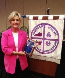 Graves School Nurse honored