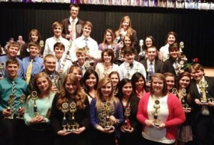 Graves County High students win at FBLA