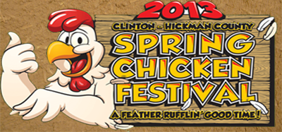For the birds: Clinton prepares for Spring Chicken Festival