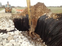40 tons needed to close this hole