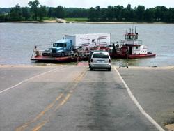 Ohio River Ice shuts down ferry