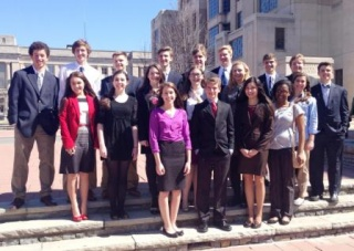 PTHS Mock Trial Varsity makes top 10 in state contest