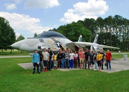 Paducah Tilghman ROTC students tour Mayport Naval Base