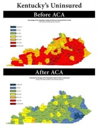 ACA cuts uninsured KY numbers in half