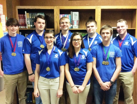 Three in a row: Graves County High School Academic Team wins district Governor's Cup championship again in 2015