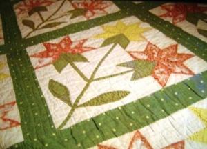 Antique quilt has a sad beginning