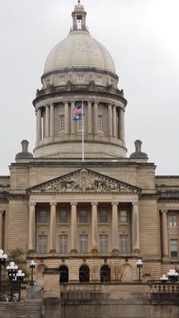 Why were peaceful protesters barred from Kentucky Capitol?