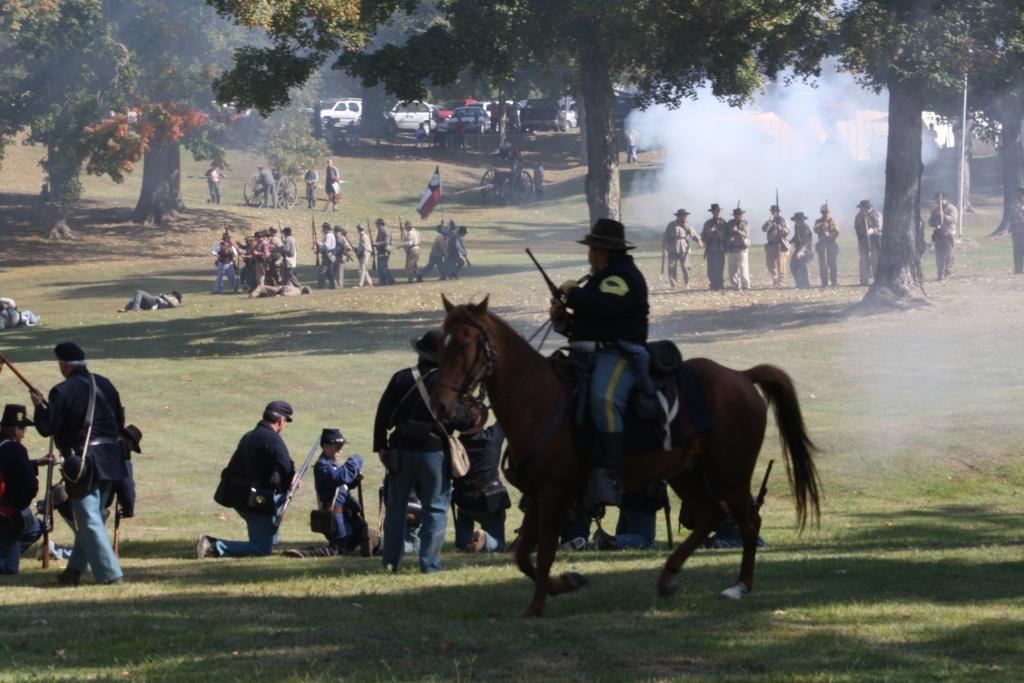 Civil War Days at Columbus Belmont begin Friday Oct. 7