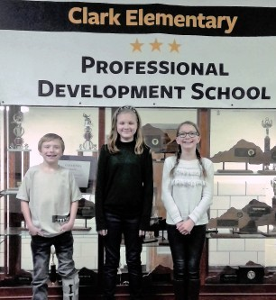 Clark Elementary students recognized for conservation essays