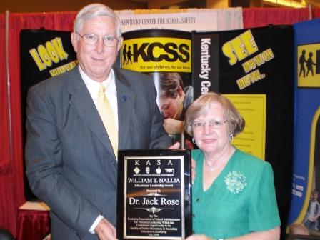 Rose honored with educational leadership award
