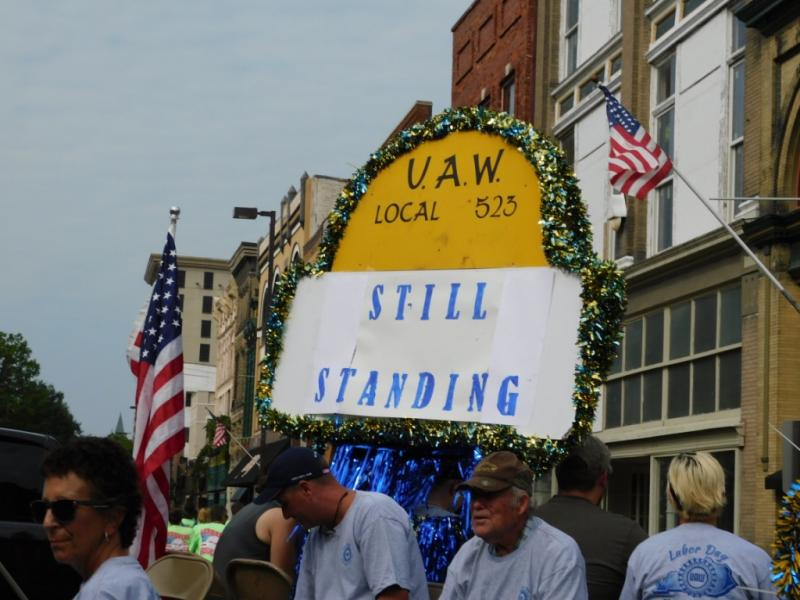 Labor Parade - unions turn out in Paducah
