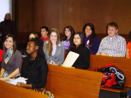 Hickman Countys mock trial team