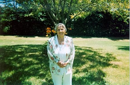 Dr. Pam Rice's mother, Helen Axley Rice