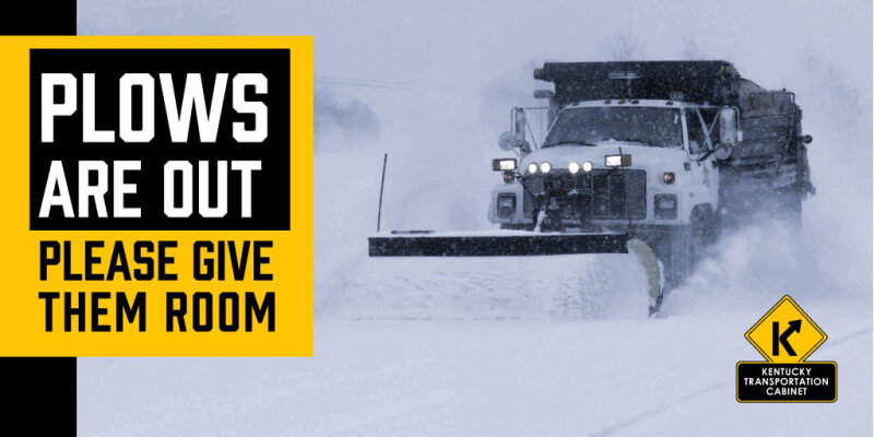 KYTC District 1 Crews Taking on Round 3 of Extended Winter Snow and Ice Event