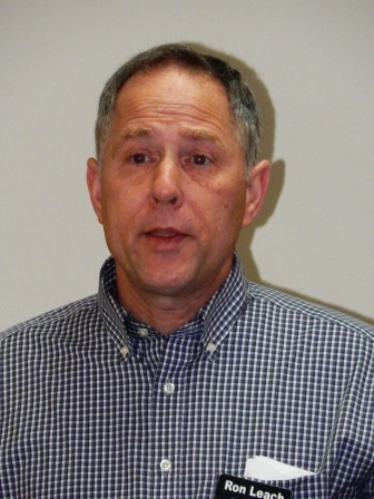 Candidate Ron Leach visits Paducah