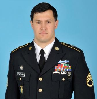 Fort Campbell soldier, Staff Sgt. Matthew Lewellen
