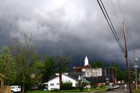 Wednesday, April 27, 2011 - one of many storm clouds
