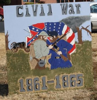 American Civil War depicted