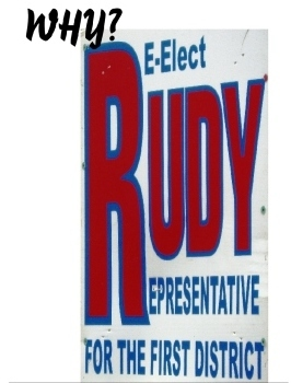 Did leadership gig go to Rep. Rudy's head?
