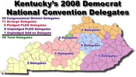 State Kentucky Delegates